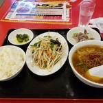 味珍 - 満腹台湾ランチセット