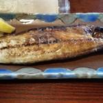 炭焼き ミンナミ食堂 - 鯖文化干し