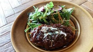 炭焼き ミンナミ食堂 - 激ウマハンバーグ