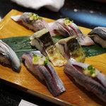 梅丘寿司の美登利総本店 - 旬のひかりものづくし