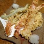 蕎麦ひら井 - 天ぷら盛り合わせ