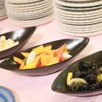 トルコ料理&地中海料理メッゼ - ピクルス