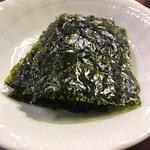 焼肉とんちゃん - 韓国海苔