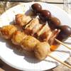 やきとり 秀吉 - 料理写真:焼き鳥 三種
