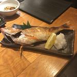 魚真 - のどぐろ塩焼き