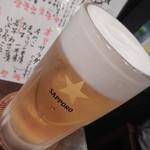 おやき SiSiMARU - 生ビール