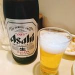 かりん - 瓶ビールに切り替え!