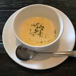 マンマ パッパ - ランチセットのとうもろこしのスープ