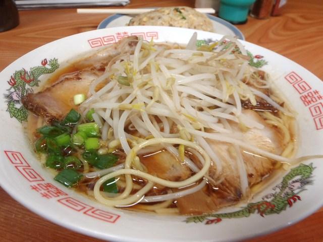 萬福食堂 - やきぶたラーメン 650円