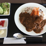 然 - 料理写真:海老フライカレー¥990×1.08