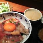 めしの助 - 海鮮丼1500円