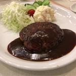 菊屋食堂 - ハンバーグ定食 950円