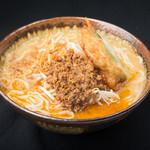 麺場 田所商店 - 九州麦味噌野菜らーめん