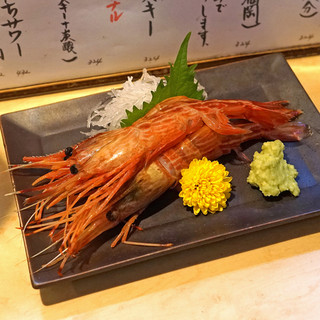 徳多和良 - 料理写真:しま海老刺
