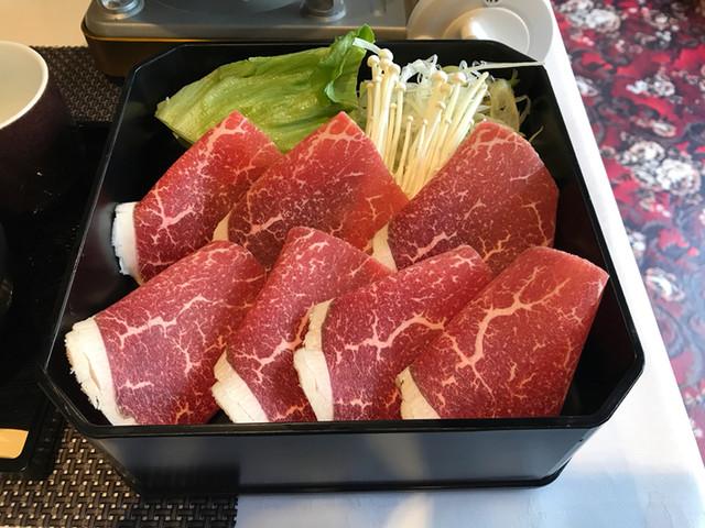 いな穂 - 和牛しゃぶランチ(肉・野菜)