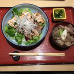 山形酒菜一 - 鶏丼+芋煮