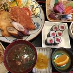 奈賀良 - 料理写真:日替りランチ (¥880-)