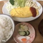 68656509 - オムレツ定食 ¥770