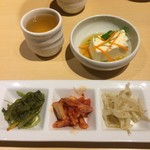韓感 - お豆腐とナムル