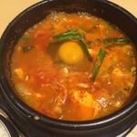 韓感 - 生卵を入れて