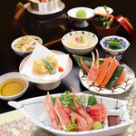 札幌かに家 - 釜飯会席