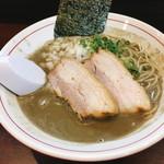 零一弐三 - 濃厚煮干し蕎麦(800円