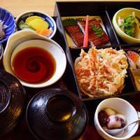 和食処 するが蕎 - 当店の店名が付いた定食、ご接待や法事のお料理にもよくご注文いただきます。