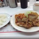 ボーイズカレー - 全国で「大関」にランクされたという生姜焼き800円