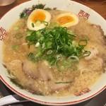 ますたに - 中華そば(650円)+味付煮玉子(100円)