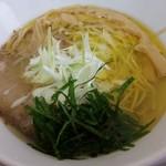 麺蔵あつお - 鶏塩 ¥700- ~美味い