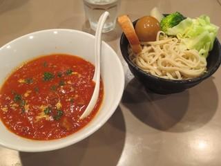 つけ麺 五ノ神製作所 新宿店 - 14/5/29肉の日-仔羊の煮込み-これで最後かなw