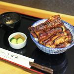 うなみ - 鰻丼 特 ( 鰻特大1尾 御飯280㌘ )☆