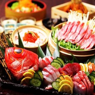 飲み放題付き宴会コース★3000円〜6000円までご用意!
