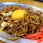 福ちゃん - 焼きそば+生卵