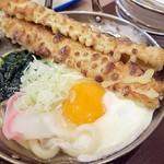 立呑み晩杯屋 - 鍋焼きうどん¥390
