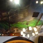 フランツィスカーナー バー&グリル - 空にもいる大天使様