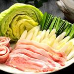 鳥正 - 千葉県産ブランド林S.P.F豚肉のしゃぶしゃぶ