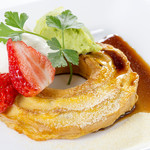 ロビーラウンジパエーゼ - 料理写真:オリジナル麩レンチトースト