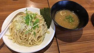 麺屋 武一 - 【再訪】つけそば中盛(鶏骨醤油スープ)