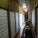 花ふじ - 廊下