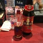 小城 - 紹興酒5年ボトル1,800円