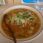 めん屋 笹浪家 - 料理写真:焼き味噌ラーメン 野菜たっぷりです。