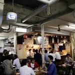 天ぷらとワイン 小島 - 平日でも満席です