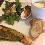 カフェ ヴェール - ヴェールランチ お魚