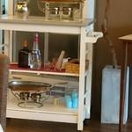 カフェ ヴェール - クレープシュゼットの道具
