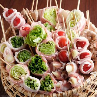 ■野菜巻き串■