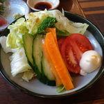 ときわ食堂 - 生野菜470円