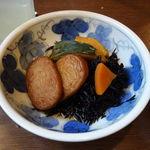 ときわ食堂 - 煮物盛合せ370円