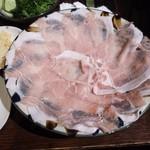 サザンウインドウ - アグー豚のシャブシャブ(1600円)×2人前