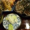 中村 - 料理写真:天ざる